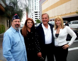 Alan, Angela Alegna, Pat Boone, Connie Breeze, Vets Parade 11-11-11