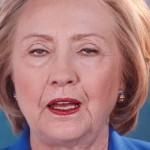 Weary Hillary