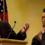 Michael Harrison & Al Franken 2005